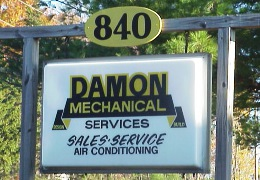 Damon Mechanical Sign
