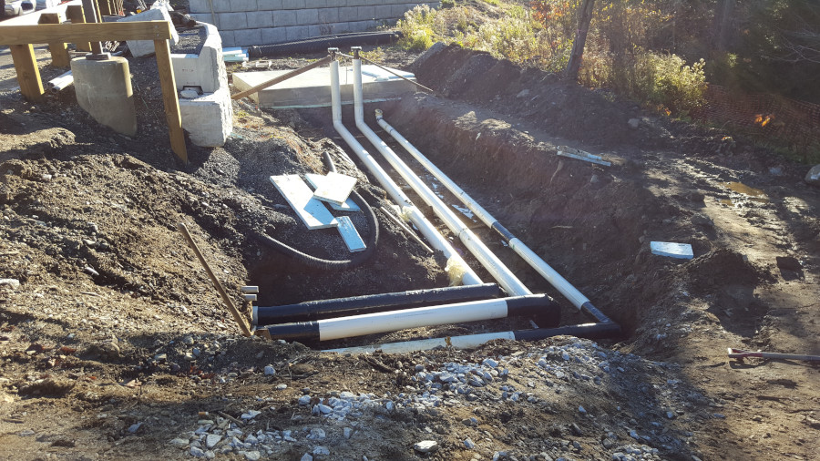 Piper Underground Chilled Water lines